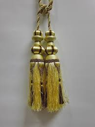 Gold Curtain Tassels Airdodo European Style Dual Head Gold And Black Curtain Tassel Tie