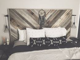 Distressed Wood Headboard Captivating Distressed Wood Headboard Best Ideas About Reclaimed