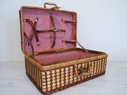 vintage picnic basket fabulously vintage vintage summer picnic