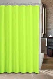 Bright Green Shower Curtain Bright Green Fabric Shower Curtain Functionalities Net