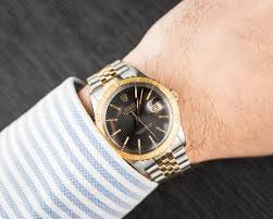 rolex print ads thunderbird datejust 16253 black