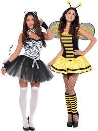zebra halloween costume ladies animal fancy dress costume adults bumble bee beauty zebra