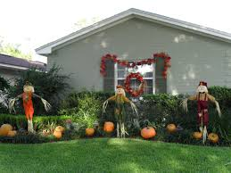 front yard halloween ideas home