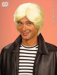 Prince Charming by Mens Blonde Wig Prince Charming 70 U0027s Disco Austin Powers Fancy