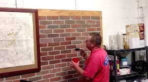masonry cosmetics how to apply stain to brick practicing with