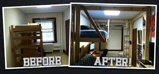 Dorm Room Loft Bed Plans Free by How To Build The Ultimate Hanging Loft Bed