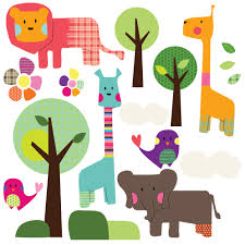 safari animal wall stickers loubilou safari animal wall stickers safari animal wall stickers