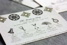 wedding invitations timeline dunton hot springs wedding once wed accordion fold wedding
