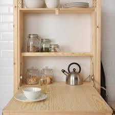 kitchen shelf storage ikea ivar shelving unit with foldable table ikea