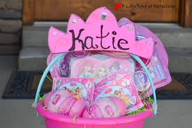 princess easter baskets disney princess personalized easter basket free princess crown