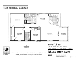 Florida Home Floor Plans Imlt 3487b Mobile Home Floor Plan Ocala Custom Homes