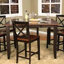 ahb rosetta two tone butterfly counter height dining table hayneedle