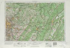 Topographical Map Of The United States by Pittsburgh Topographic Map Sheet United States 1958 Full Size