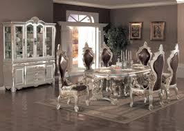 beautiful white formal dining room sets contemporary home design