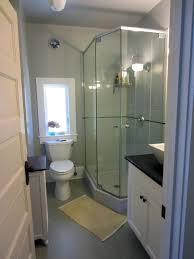 Bathroom With Shower Only Home Design Small Bathroom Ideas With Corner Shower Only