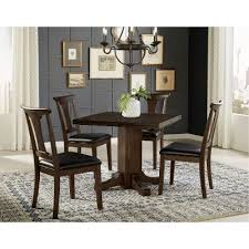 Drop Leaf Dining Room Table Warm Gray 5 Piece Drop Leaf Dining Set Brooklyn Heights