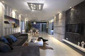 Custom  Modern Black And White Living Room Furniture Decorating - Stylish living room furniture orange county property