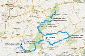 cumberland lake map take the kentucky waterfalls road trip lake cumberland