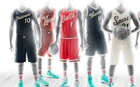 photos nba unveils day jerseys socks cbssports