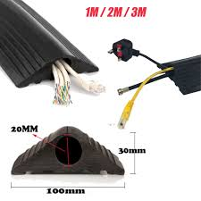 Cable Cover Floor by Rubber Bumper Safety Floor Mat Cable Wire Lead Protector Trunking