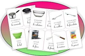glossaire de cuisine la cuisine et autres gourmandises imagier école et la cuisine