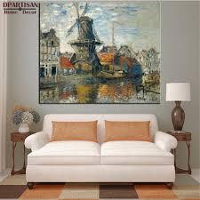 Living Room Paintings Online Get Cheap Claude Monet Portraits Aliexpress Com Alibaba