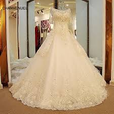 gown for wedding ls54420 glitter wedding dresses sleeves lace up back