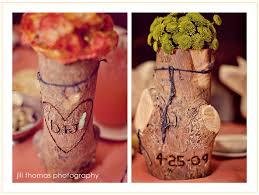 wood log vases rustic wood vases one day rustic wood
