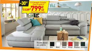canapé d angle chez conforama canapé d angle fixe gauche franklin coloris gris canapé conforama