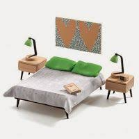 Modern Doll House Furniture by Djeco Doll House Furniture The Children U0027s Room Dollhouse