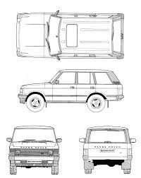 range rover sketch scale drawing and reference diagrams scale 4x4 r c forums