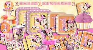 1st birthday party supplies birthday party minnie mouse ideas image inspiration of cake
