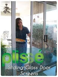 Sliding Patio Door Screens Plisse Retractable Door Screen Photo Gallery