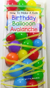 birthday balloons for him the 25 best birthday balloon avalanche ideas on