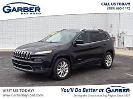jeep cherokee 2015 price pre owned 2015 jeep cherokee limited suv in saginaw 71693137p