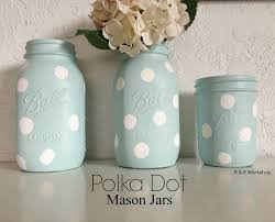 Halloween Mason Jar Ideas Diy Polka Dot Jars Decorating Craft And Gift