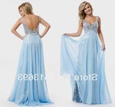 light blue prom dresses with straps naf dresses