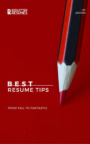 Best Resume Letter by Best Resume Tips Ebook Write The Perfect Resume U2014 Red Letter