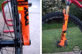 fox motocross forks fox black stanchions lightweight xc fork more boost mtbr com