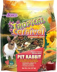 rabbit food tropical carnival gourmet pet rabbit food f m brown s