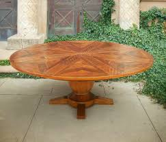 Expanding Square Table by Western Heritage Furniture Expanding Round Table