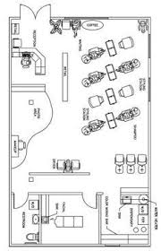 Shop Floor Plans Free Salon Floor Plans Barber Shop Pinterest Nail Room