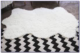 Imitation Sheepskin Rugs Grey Sheepskin Rug Ikea Rugs Home Design Ideas Kl9kervjn3