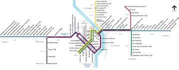portland light rail map trimet rail system map max wes and streetcar cross stitch