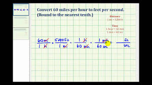 75 Square Meters To Feet Ex Convert Mile Per Hour To Feet Per Second Youtube