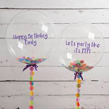 personalised birthday balloons pink birthday balloon images free elements