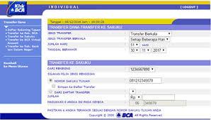 Klikbca Individual Bca Easier Sakuku Top Up Via Bca Mobile And Klikbca Individual