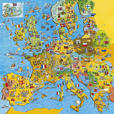 Belgium Map Europe by Gibsons Jig Map Europe Jigsaw Puzzle 200 Pieces Pdk