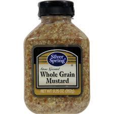 boetje s mustard silver mustard whole grain ground 9 25 oz from