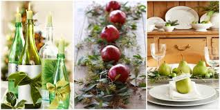 cheap christmas table centerpieces christmas dinner decorations with 35 diy christmas